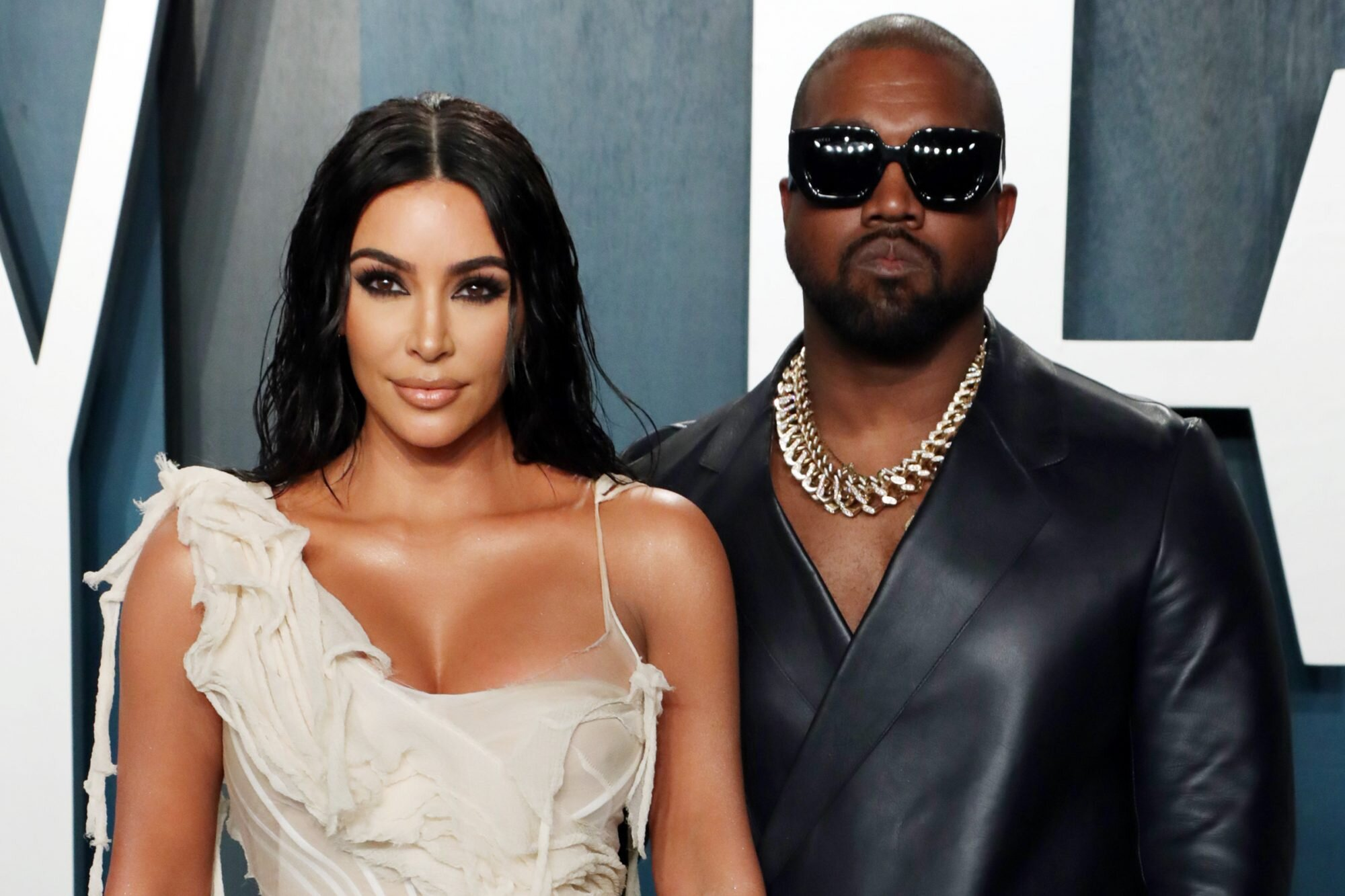 In Response to Kim Kardashian's Divorce Filing Joint Custody of Kids Requested by Kanye West
