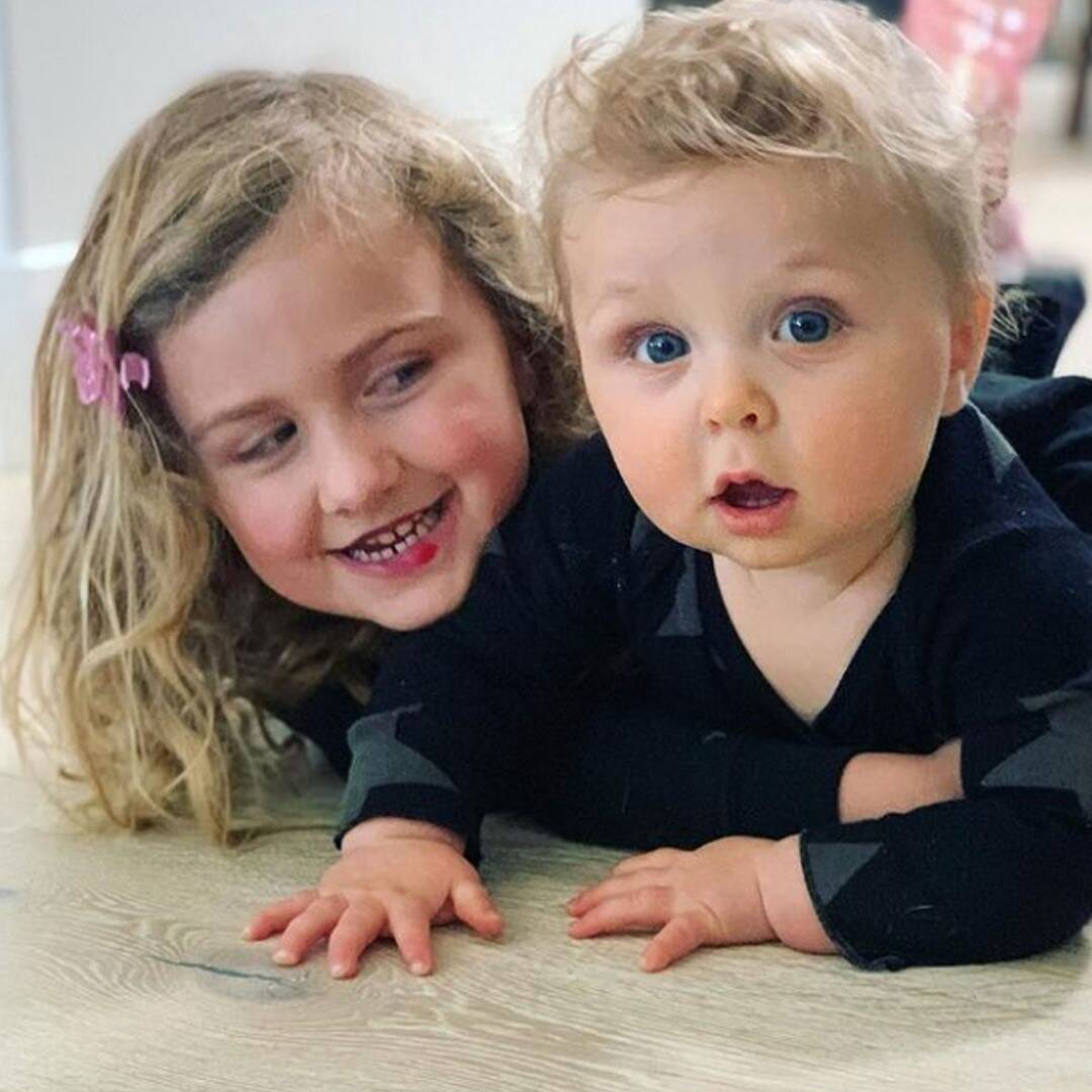 To Brother Buddy Bridie (Bella's Daughter) Is Already an Incredible Big Sister